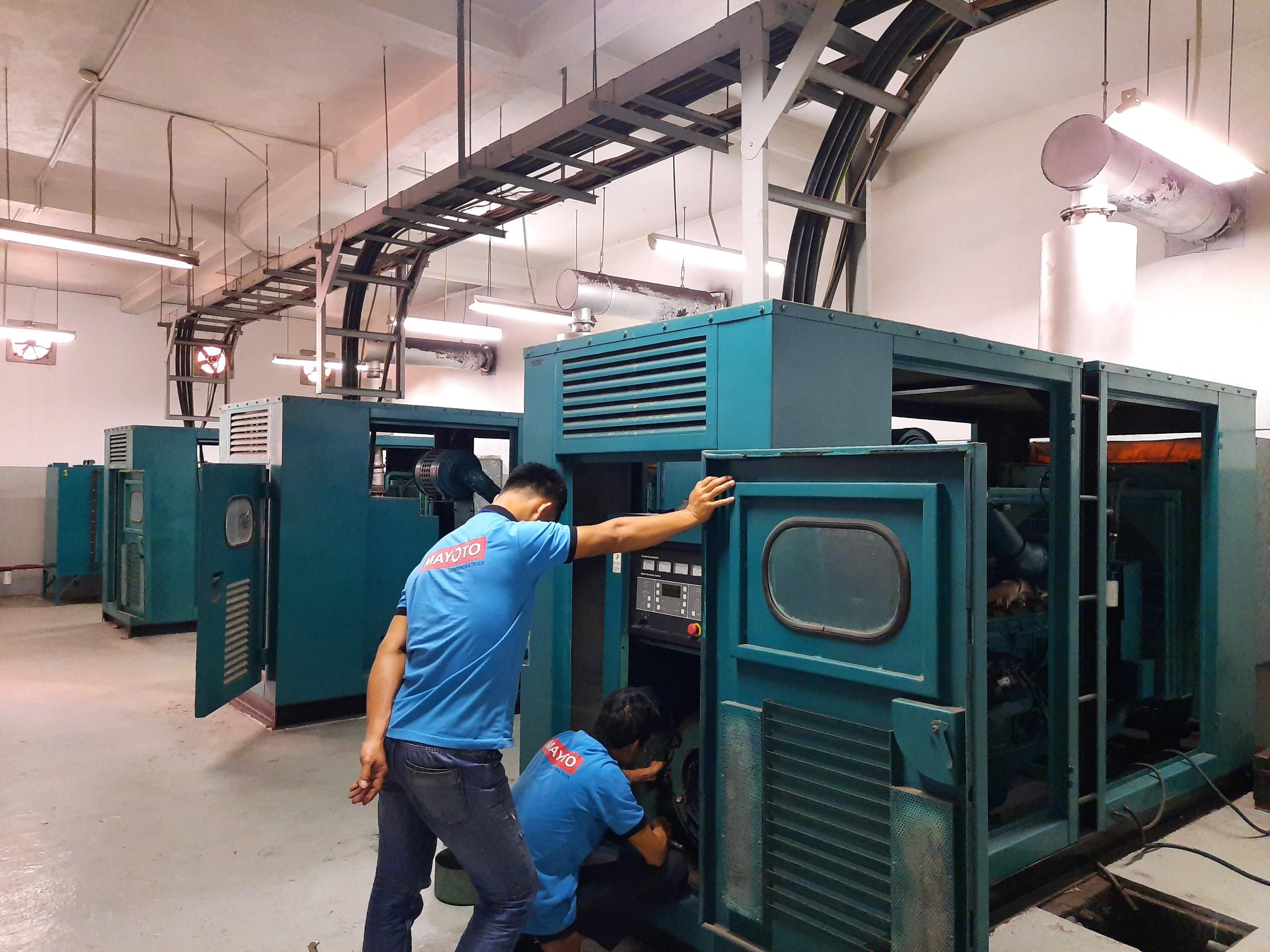 Sửa chữa, bảo trì bảo dưỡng máy phát điện Cummins cho Resort ở Hội An, Quảng Nam