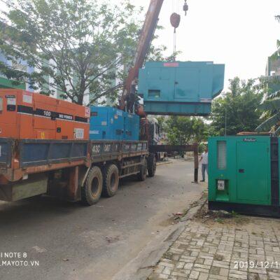 Cho thuê máy phát điện tại Đà Nẵng, Quảng Nam, Quảng Ngãi, Huế