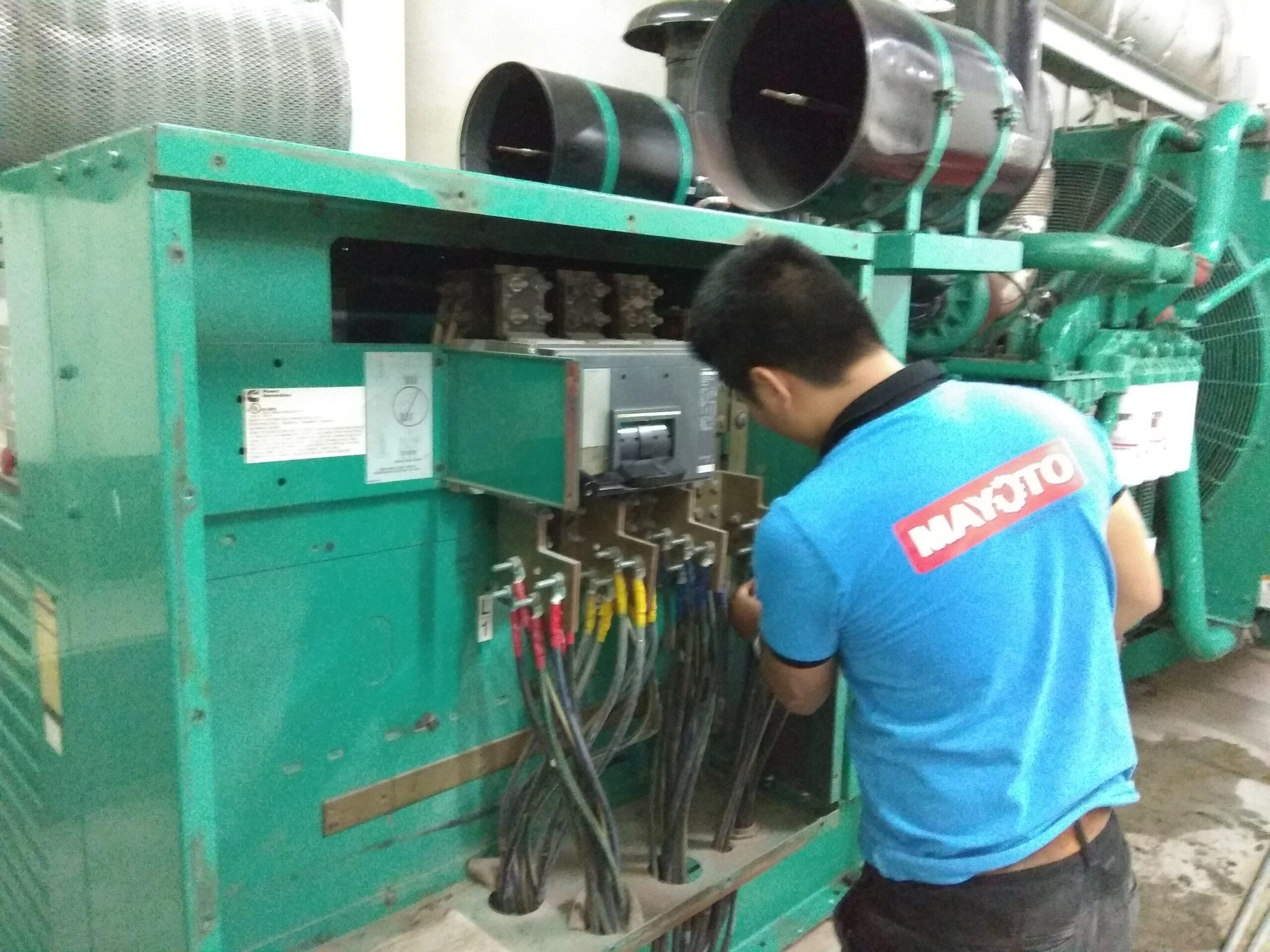Bảo trì máy phát điện Cummins 1500kVA