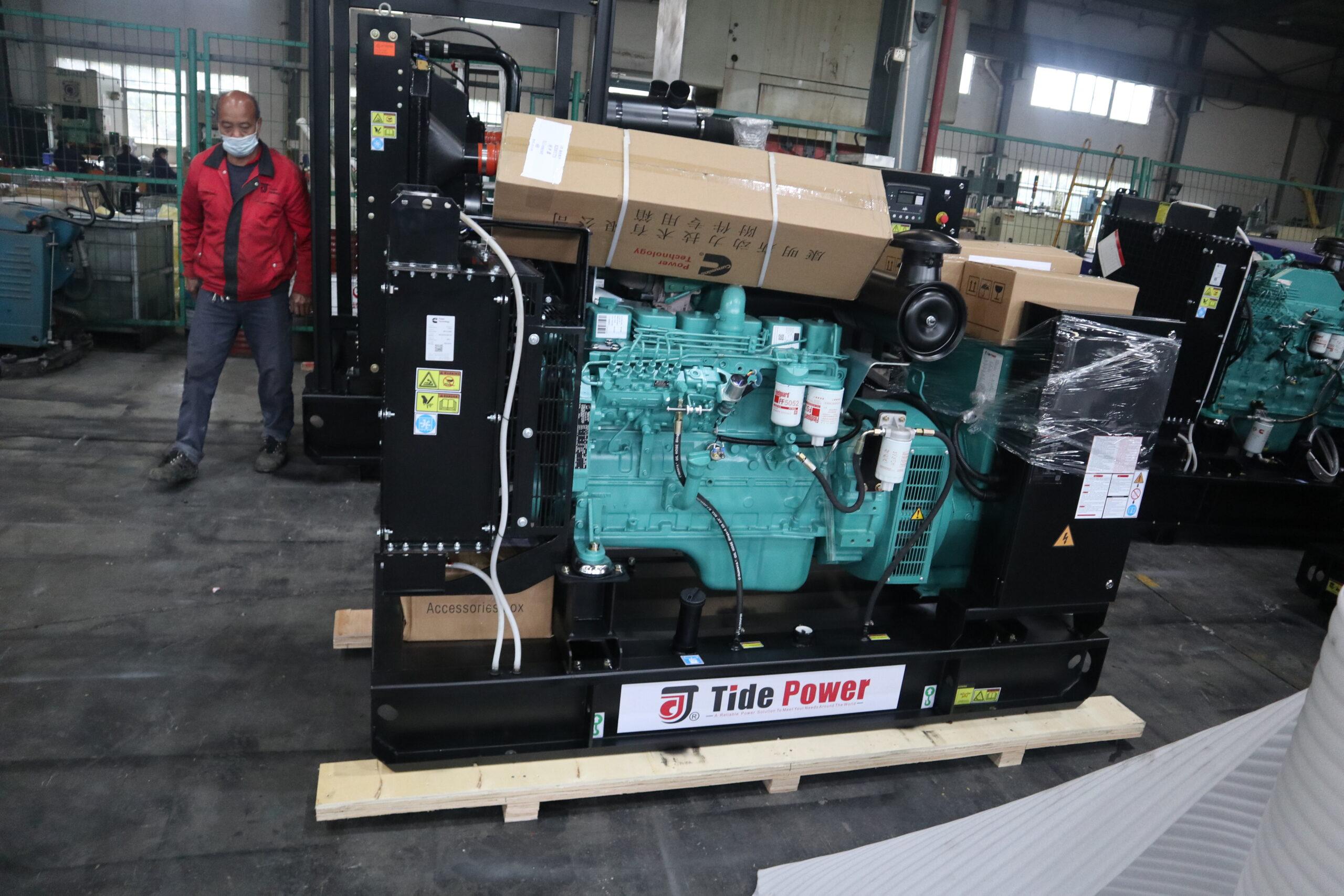 Generator - Máy phát điện 100 kVA Cummins Tide Power