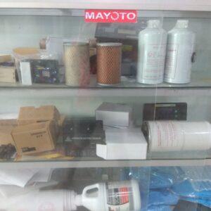 Vật tư máy phát điện: Lọc, Avr, bộ điều khiển, sạc, nước làm mát...