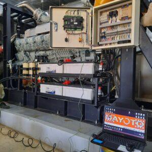 Máy phát điện 2000kVA cho Resort Mikazuki Đà Nẵng