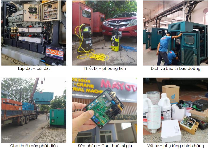 Bảo trì máy phát điện tài Đà Nẵng